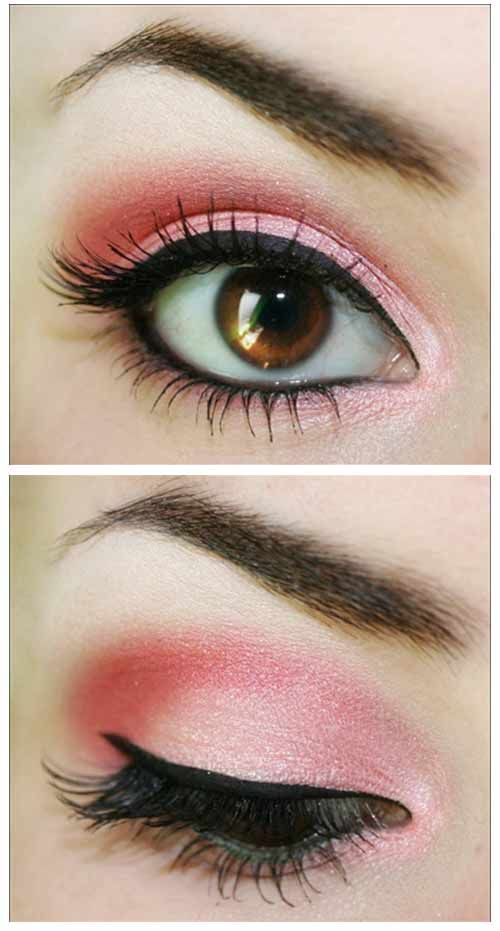15 Beautiful Pink Eye Makeup Looks For 2017 Pretty Designs
