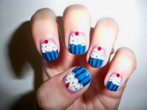 Awesome Cupcake Nails