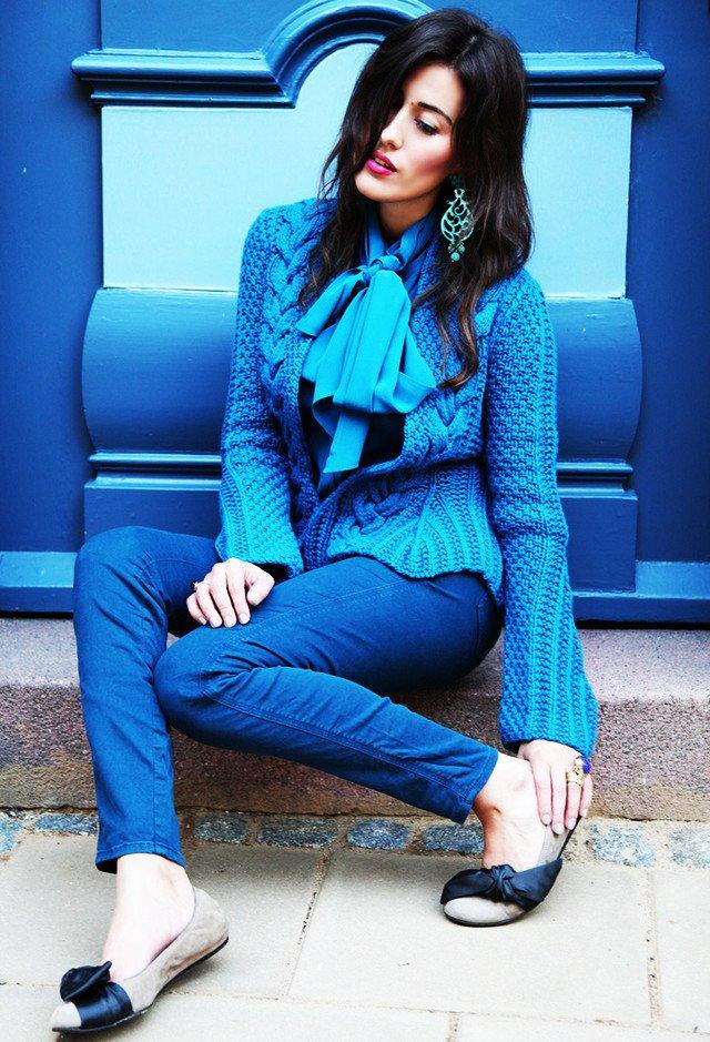 Beautiful Blue Outfit Idea