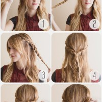 Beautiful Boho Rose Braid Hairstyle Tutorial