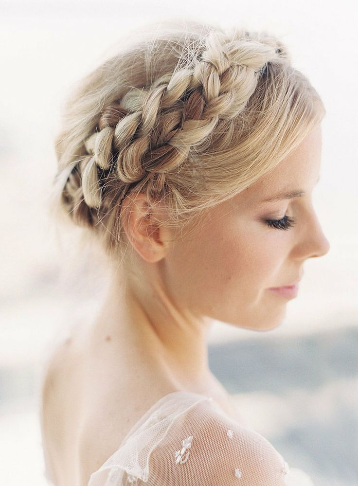 Beautiful Braided Crown Hairstyle