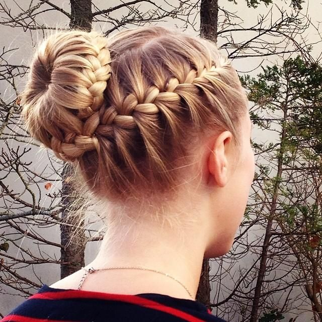 Miraculous Hair To Try Braided Bun Hairstyles Pretty Designs Hairstyle Inspiration Daily Dogsangcom