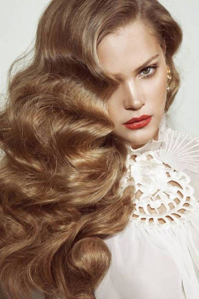 haircut styles for long wavy hair it style vintage curly hairstyles pretty designs 3464 | Beautiful Long Curls