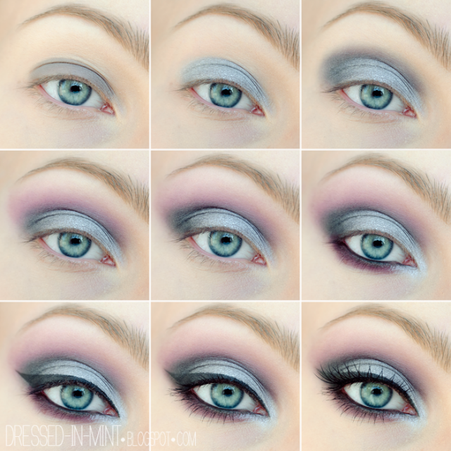 Smokey Eye Makeup Tutorial For Blue Eyes