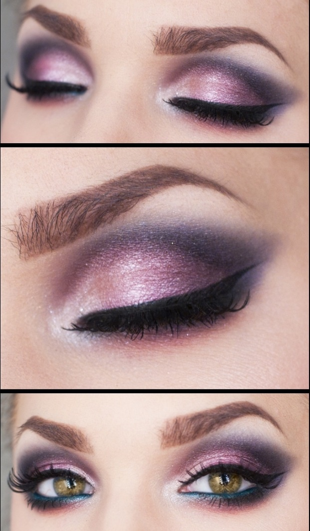 Purple Eyeshadow Tutorial: 14 Glamorous Purple Eye Makeup Looks