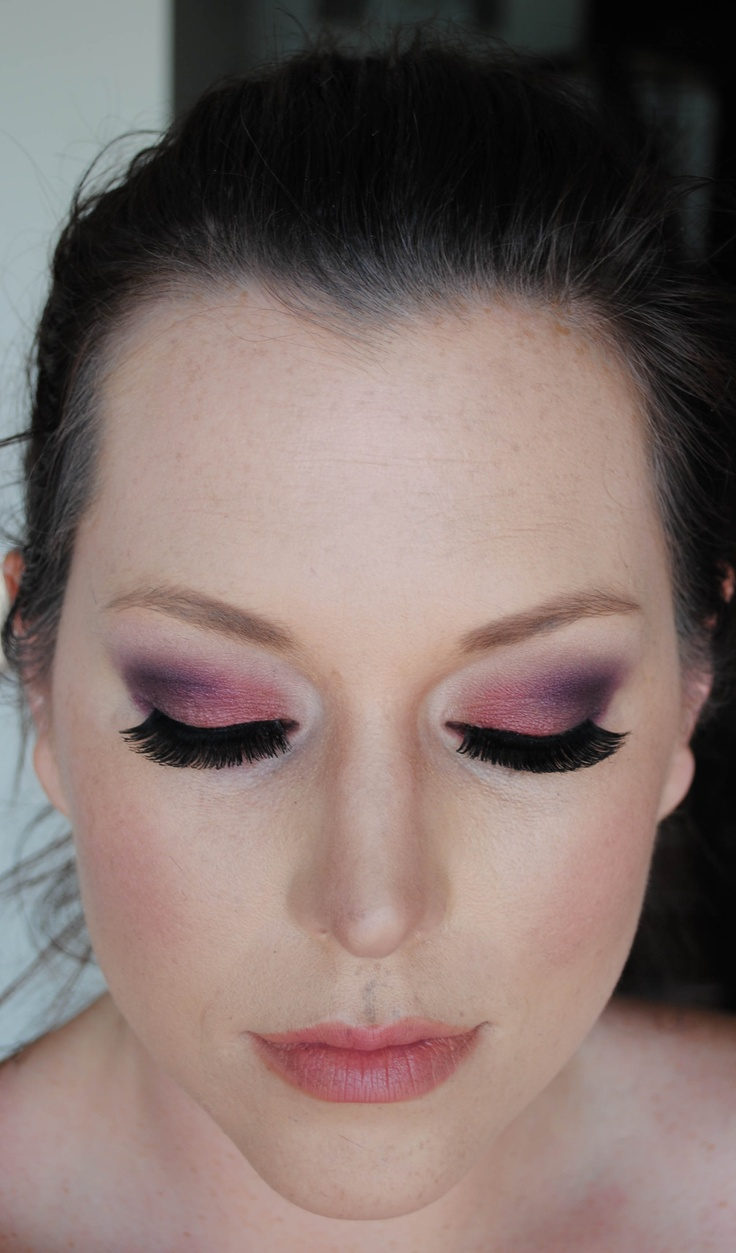 Berry Ombre Eye Makeup