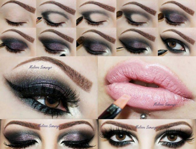 How to do professional eye makeup
