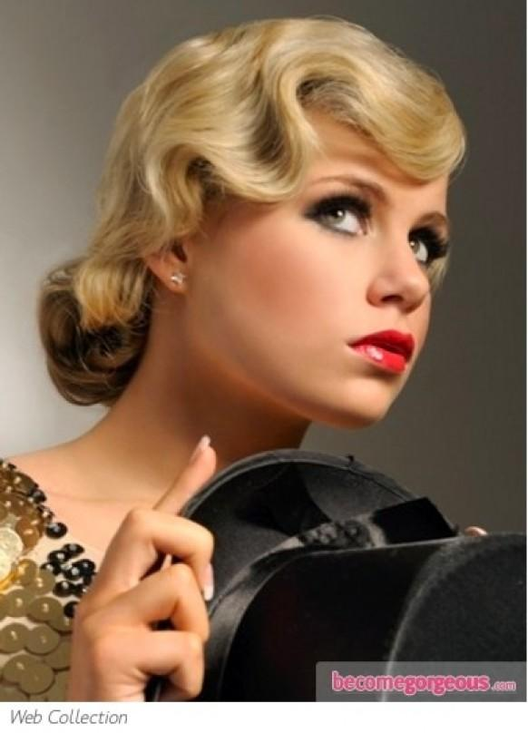 Admirable It Girl Style Vintage Curly Hairstyles Pretty Designs Short Hairstyles Gunalazisus