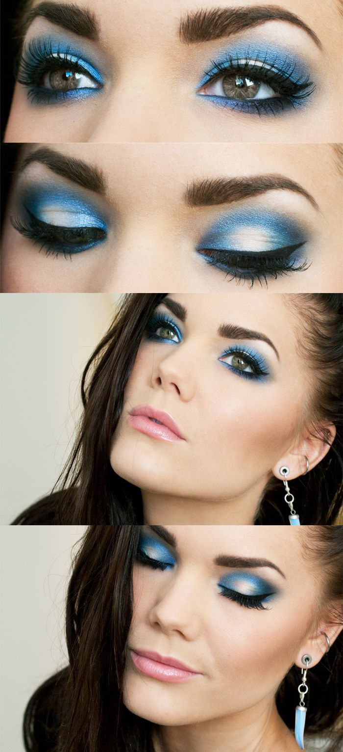 Video Makeup Tutorials: 12 Chic Blue Eye Makeup Looks And Tutorials