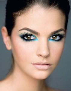 Blue Eyeliner for Smokey Eyes