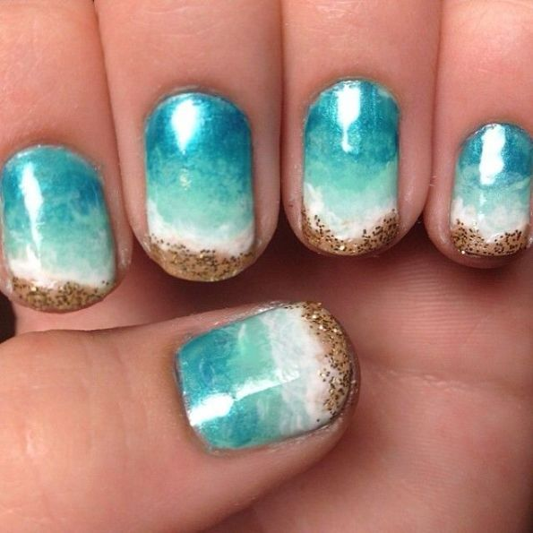 Summer Beach Nails You Wont Miss   Pretty Designs