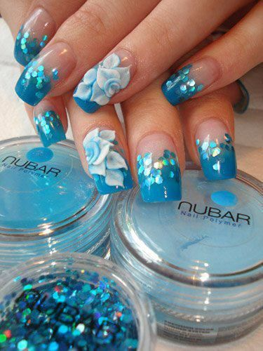 3d Flower Nail Designs Pretty Designs