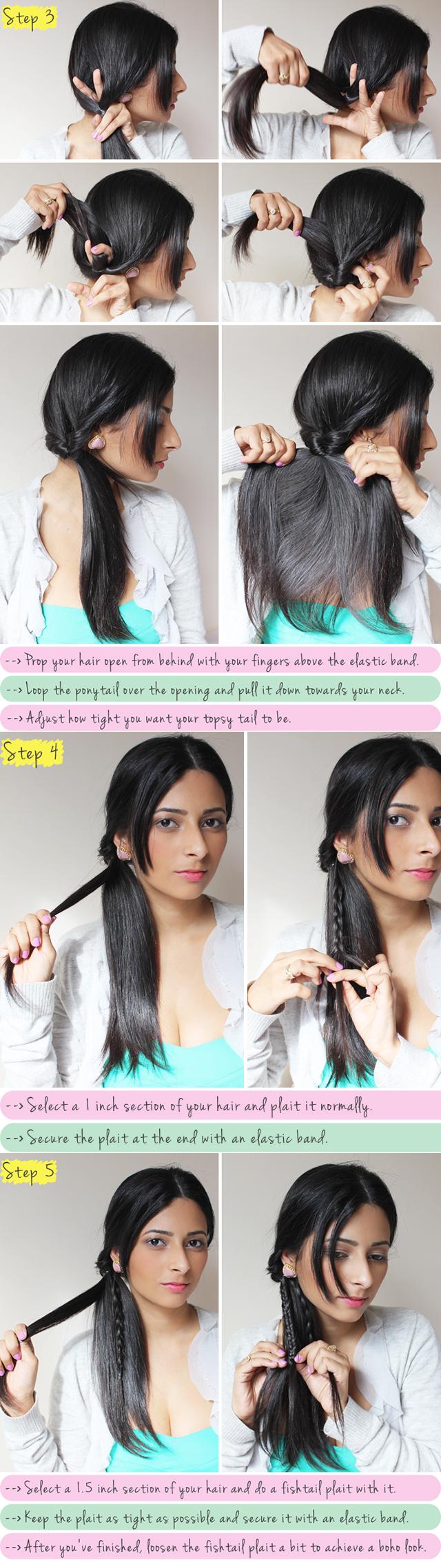 Boho-chic Braided Hairstyle Tutorial