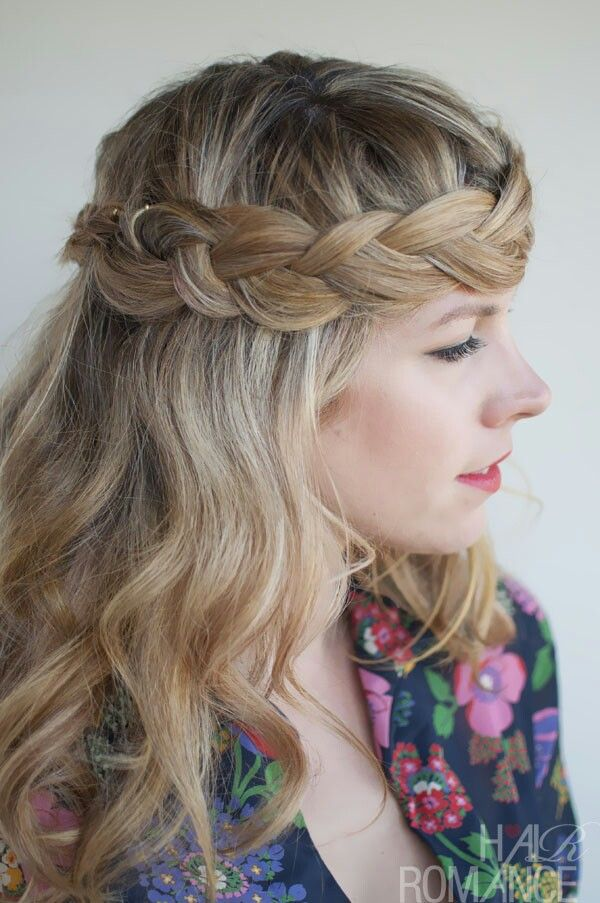 Boho-chic Braided Hairstyle