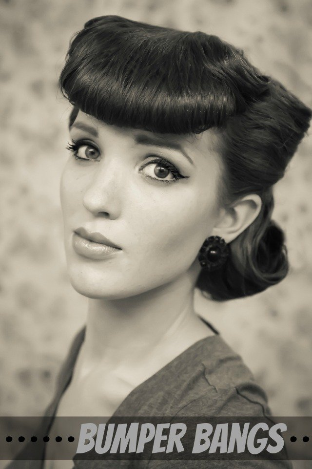 14 Glamorous Retro Hairstyle Tutorials - Pretty Designs