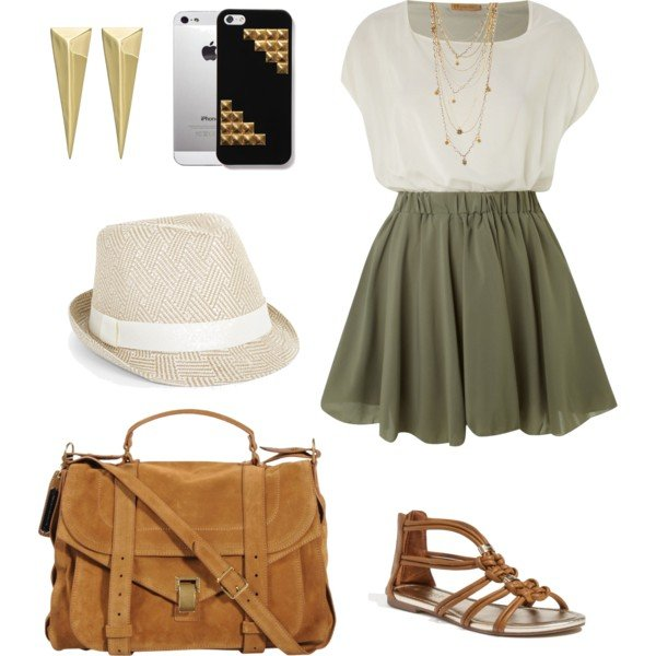 16 Beautiful Polyvore Outfit Ideas with Dresses
