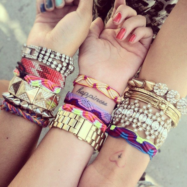 Chic Multiple Bracets