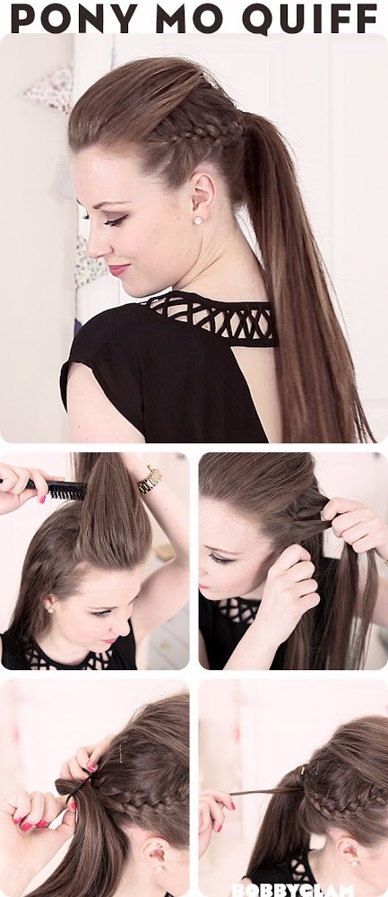 Chic Ponytail Hairstyle Tutorial