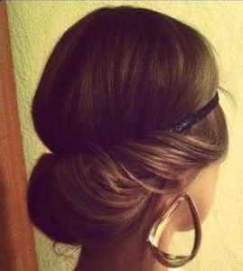 Classy Updo Hairstyle