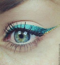 Colored Eyeliner for Blue Eyes