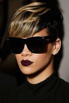 Cool Burgundy Lips
