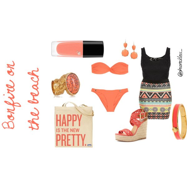 Coral Beach Outfit