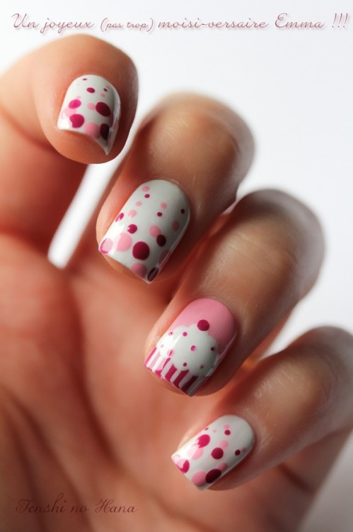 Birthday Themed Nail Arts Pretty Designs
