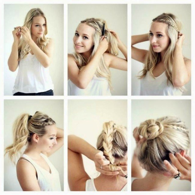 Cute Quick Hairstyles For Summer