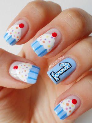Cute Cupcake Nails