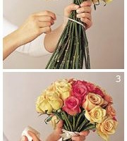 DIY Rose Bouquet