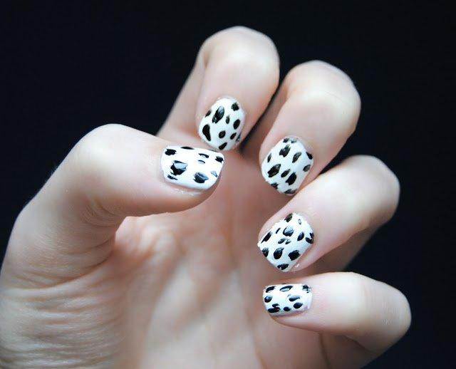 Dalmatian Nails