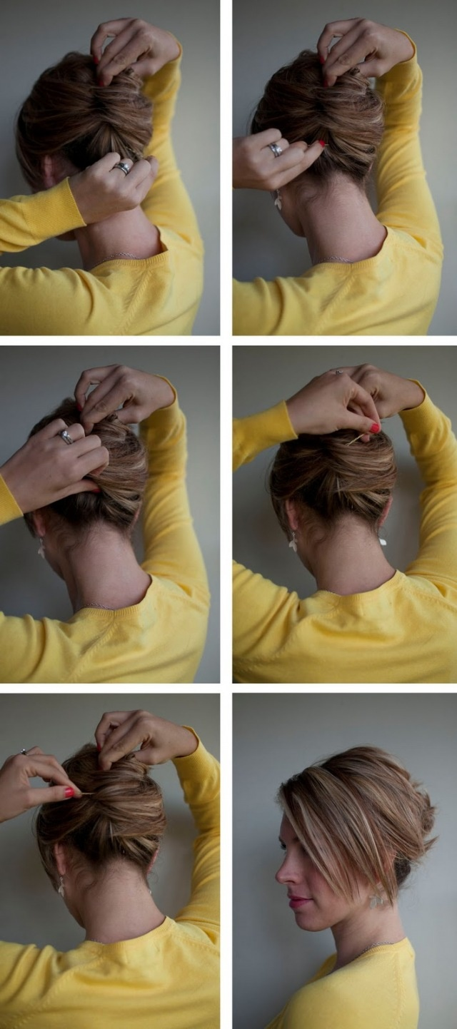 How to French Twist Hair Hair Tutorials How to French