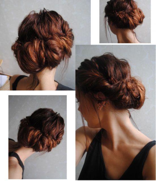 Elegant Hair Buns Styles Hair To Try Braided Bun Hairstyles  Pretty Designs