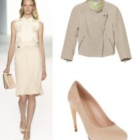 Elegant White Dress Outfit for Office