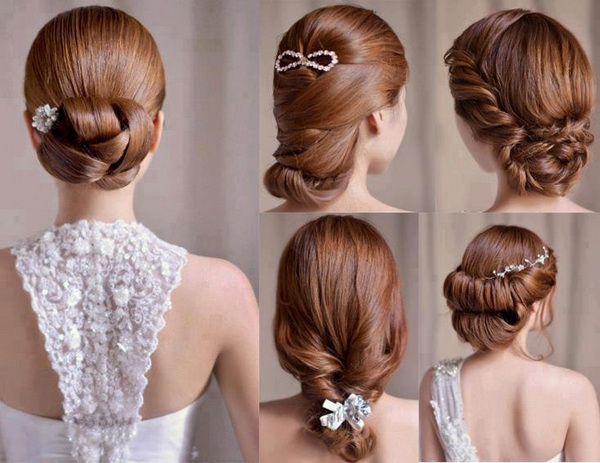 Top 20 Fabulous Updo Wedding Hairstyles: Fantastic Long Wedding Hairstyles For Bridals