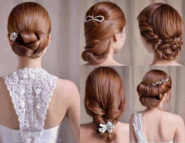 Superb Bridal Hairstyle Best Hairstyles 2017 Short Hairstyles Gunalazisus