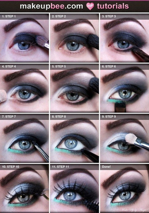 Fantastic Makeup Tutorial for Blue Eyes