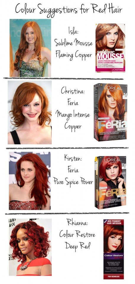 Find the Desired Hair Color