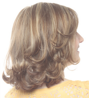 Flip-up Hairstyle