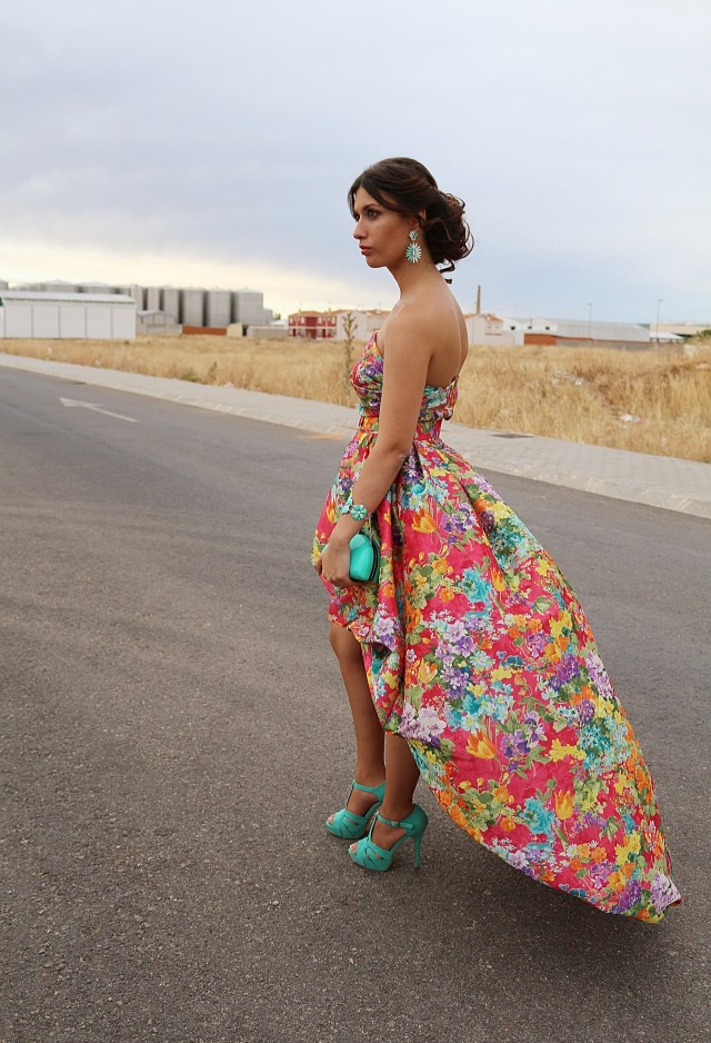 Floral Dress for Date