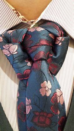 Floral Printed Tie for Man