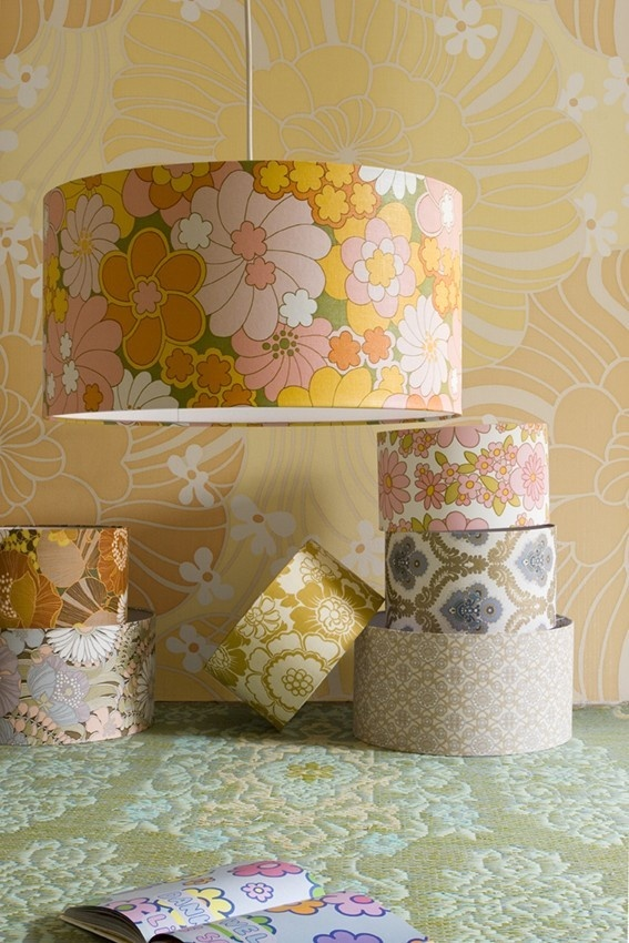 Flower Lampshades