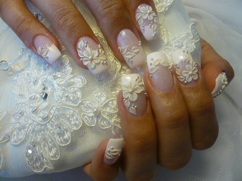 14 Wedding Nail Ideas To Try