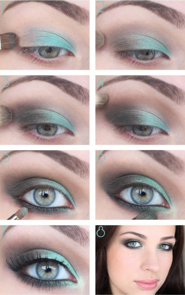20 Beautiful Makeup Tutorials For Blue Eyes - Pretty Designs