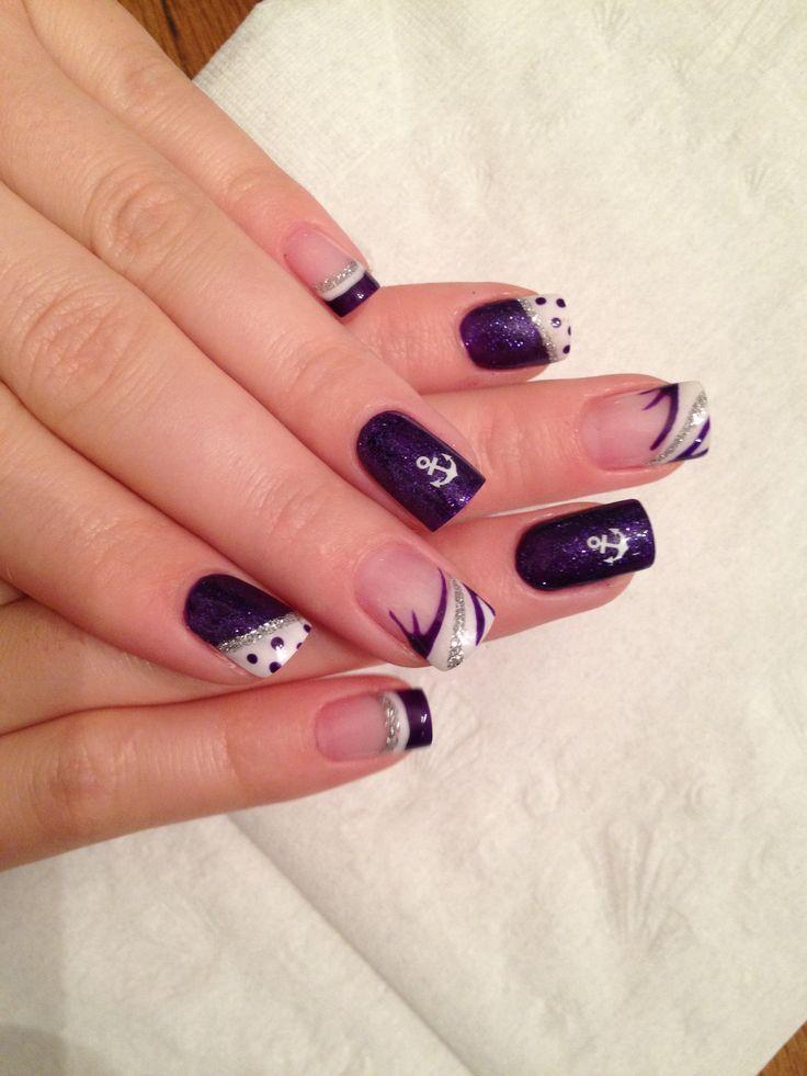 Summer Gel nails a Pretty N Pink   Nails, Summer gel nails
