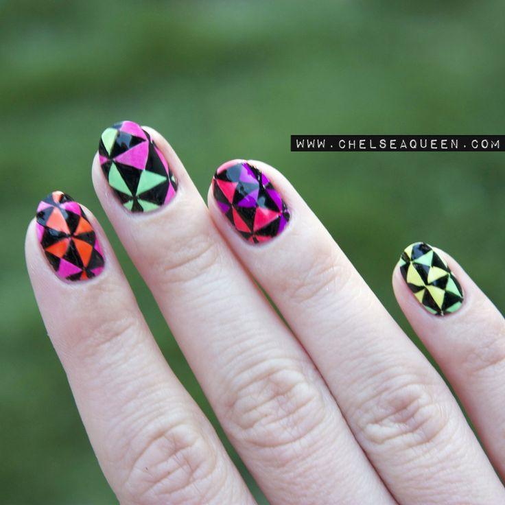 17 Unique Neon Nail Designs for 2017 - Pretty Designs