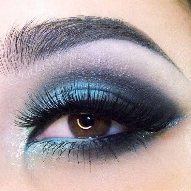 Gorgeous Blue Eye Makeup For Eyes