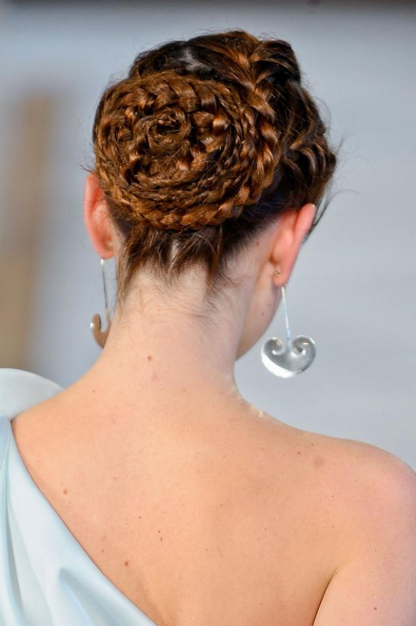 Gorgeous Braided Bridal Hairstyle