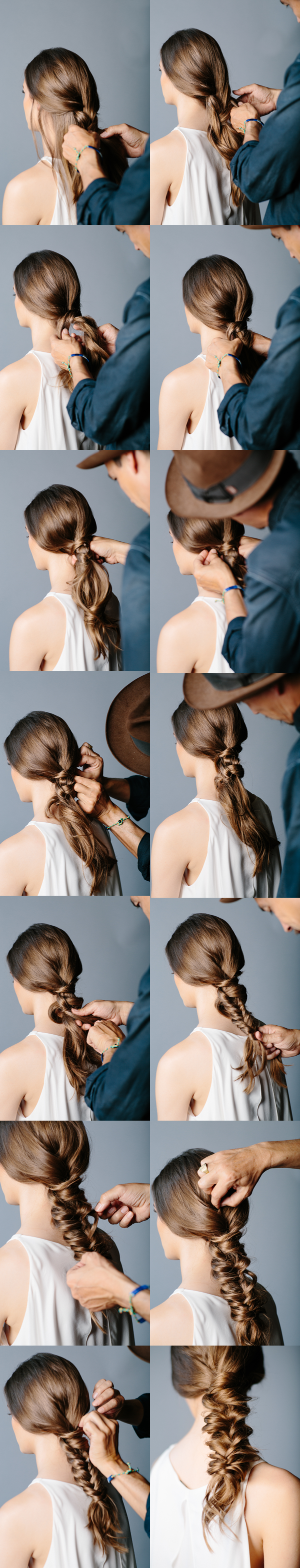 Gorgeous Braided Hairstyle Tutorial