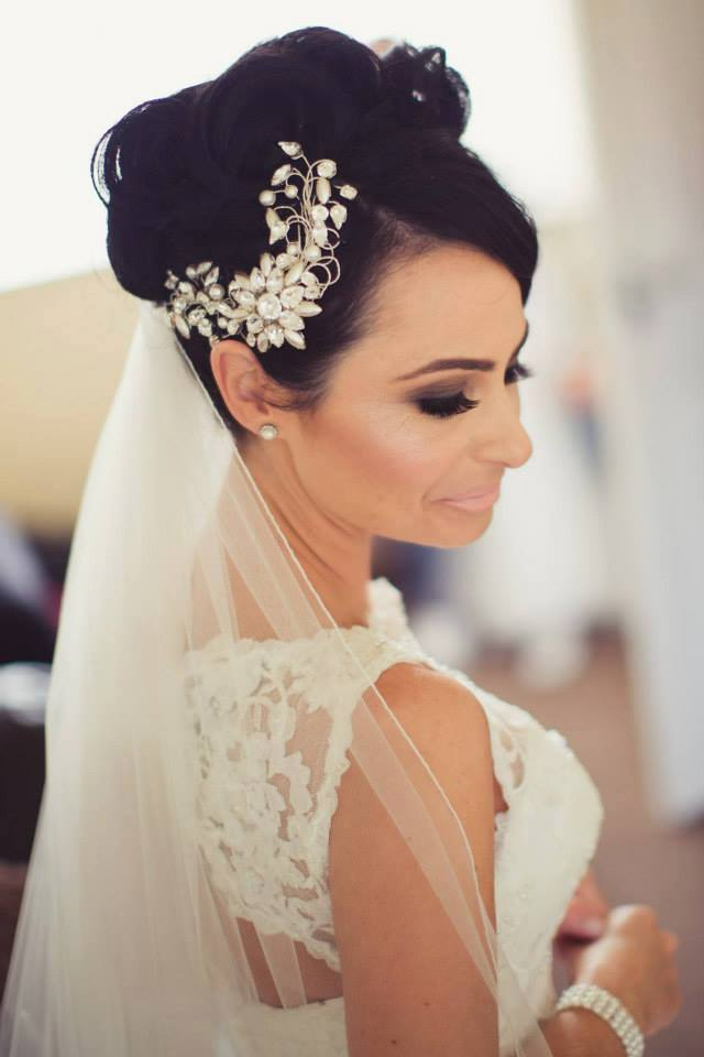Gorgeous Bridal Hair Accessory by Ann McKavney